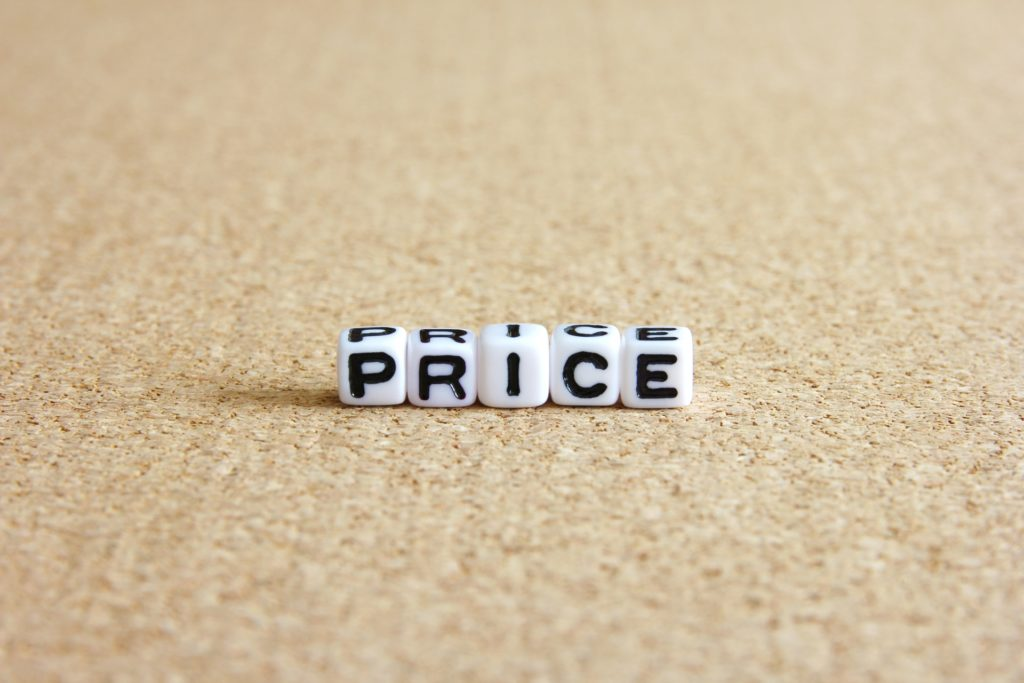 価格設定って難しい
