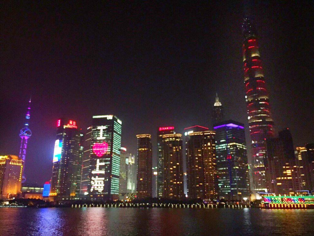 上海に出張してきました。